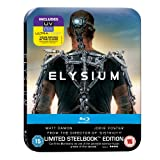 Elysium - Limited Edition Steelbook: Mastered in 4K Edition (Includes UltraViolet Copy) [Blu-ray]