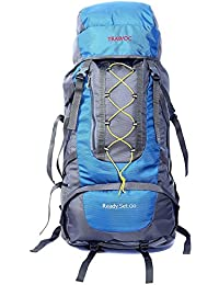 TRAWOC 60L Travel Backpack for Outdoor Sport Camp Hiking Trekking Bag Camping Rucksack