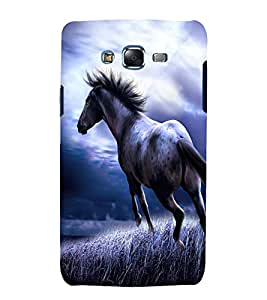 printtech Nature Animal Horse Back Case Cover for Samsung Galaxy Core i8262 / Samsung Galaxy Core i8260