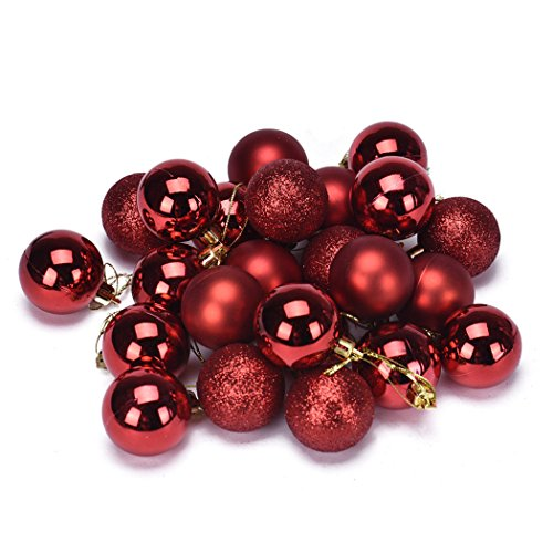 Xmas Ball, Noël 4 Arbre Boule Décoration cm 24PC Noël d'occasion  Livré partout en Belgique