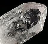 MyHomeLux Set Schungit Wassersteine (200g) + Bergkristall (1 Rohstein) in Zwei Größen (Bergkristall Stein 5-8cm)