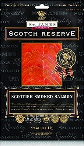 St James Smokehouse Scotch Reserve® Award Winning Scottish Smoked Salmon 100g
