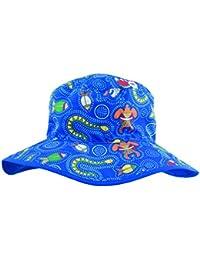 Baby Banz Dreamtime Chapeau anti-UV pour garçon Motif bleu 0/2 ans