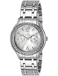 Westar Analog Mother of Pearl Dial Women's Watch - 0445SPN111