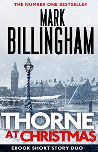 book cover of Thorne at Christmas