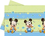 Nappe Plastique Bébé Mickey 120 x 180 cm - Taille Unique
