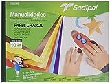 Sadipal 936181 - Cuaderno de manualidades con papel charol