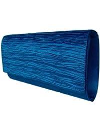"""Diva Mode"" Damen Abendtasche,Handtasche,Clutch Blau ,Royalblau"