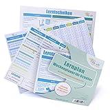 lib-elle 4260343841937 Lernplan - Schüler-Wochenplaner inklusive feste Karte mit Lerntechniken