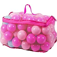 Distinguished Chad Valley Bag of 100 Pink and Blue Playballs --