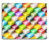 Mousepads Vector Geometrische Nahtlose Muster mit Bright Colored Cubes Fliesen Mosaik Hintergrund mit 3D Glas Bild-ID 37069904von Liili Individuelle Mousepads fleckenresistenz Collector Kit Küche Tisch Top Schreibtisch Drink Individuelle fleckenresistenz Collector Kit Küche Tisch Top Schreibtisch