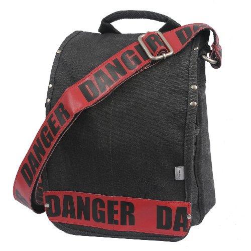 ducti-danger-utility-fundas-para-tablets-maletin-clasico-negro-rojo-nylon-254-cm-3302-cm