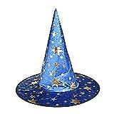 THEE Sombrero Bruja de Disfraz para Niñas y Adultos