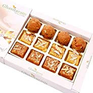 Ghasitaram Gifts Sweets North Indian Mix in White Box