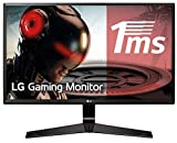 LG 27MP59G-P - Monitor Gaming FHD de 68,6 cm (27') con Panel IPS (1920 x 1080 píxeles, 16:9, 1 ms con MBR, 75Hz, 250 cd/m², 1000:1, sRGB >99%) Color Negro