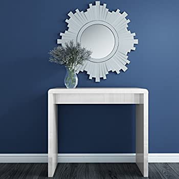 white hallway console table. White High Gloss Narrow Hall Console Table- Modern Design- FREE UK Delivery Hallway Table