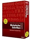 Produkt-Bild: Historische Schriften. CD-ROM für Windows ab Windows ME/2000/XP/Mac OS X. Historische TrueType-Fonts