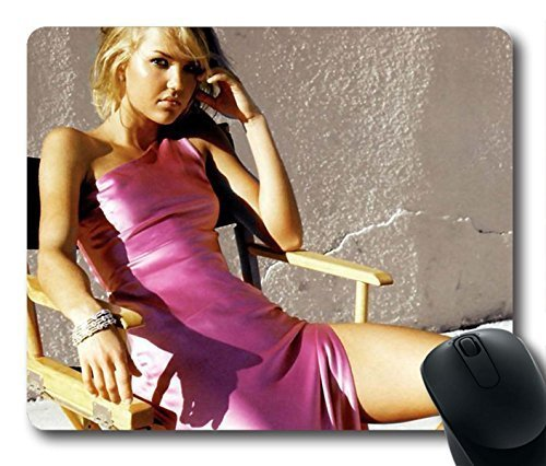 Gaming Mouse Pad, Hot Girl Arielle Kebbel Personalized MousePads Natural Eco Rubber Durable Design Computer Desk Stationery Accessories Gifts For Mouse Pads