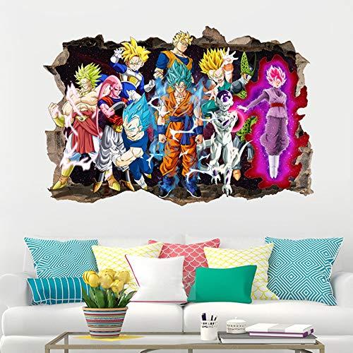 JUNMAO Dragon Ball Wandaufkleber/Wandbild Aufkleber/Wand Poster/Wandgemälde (-5)