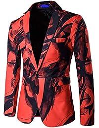 Modisch Herren Anzug Jacke Sakko Slim Freizeit Fit Blazer Business Fashion  Smoking Einfarbig Weihnachten Festliche Sakko 9cd2784eed