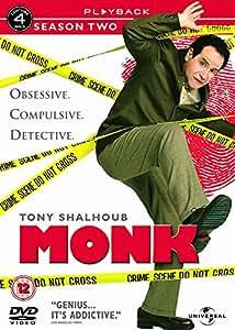 Monk - Season 2 - Complete [DVD]