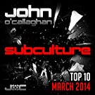 Subculture Top 10 March 2014