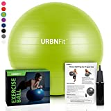 EXERCISE BALLS: ULTRA TOUGH CONSTRUCTION FOR PERFECT CORE WORKOUTS!  Do you love working out and rather than endless sit ups, would like a super convenient way of performing back, stomach and core strengthening exercises?  Would you like a super dura...