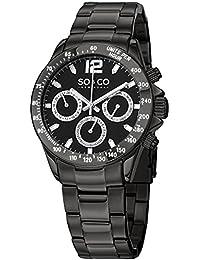 SO & CO New York Reloj 5001.3 Negro