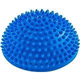 #DoYourFitness Balance-Kugel »Igel« zur Steigerung der Balance/Koordination. Ideal für Balance-Training 320g zirka 8cm hoch und 16cm Durchmesser in blau
