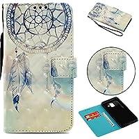 Everainy Samsung Galaxy A6 2018 Hülle Silikon PU Leder Flip Wallet Case Gummi Schutzhülle Kartenfach Magnet für... preisvergleich bei billige-tabletten.eu