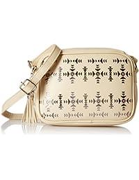 Kanvas Katha Women's Handbag (Off White) (KKSQL004)
