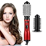 Brosse Soufflante Rotative 3 in 1 Multifonctions Brosse Coiffante 3 Vitesses...
