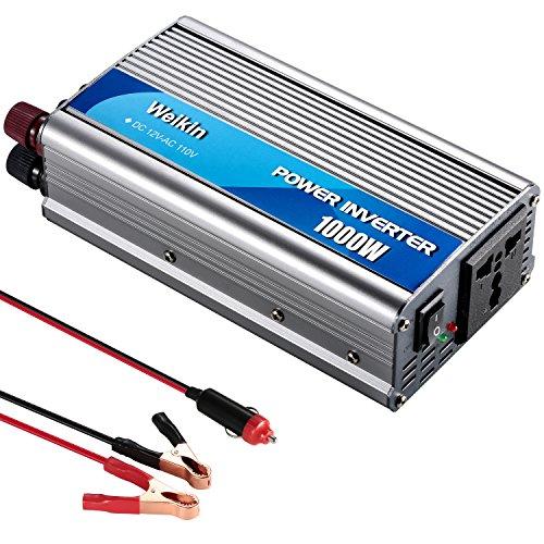 weikin Power Inverter 3000Watt DC 12V zu AC 220V Volt Konverter mit Akku Ladefunktion 220v Dc-inverter