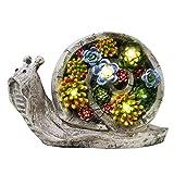 #5: Wonderland Snail Solar Light / Solar Lights For Outdoor, Garden Decor, Balcony Decoration , Home Decor, Gift