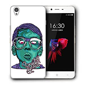 Snoogg Beautiful Night Made Designer Protective Back Case Cover For ONEPLUS X