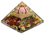 Harmonize Multistone Orgon Pyramide mit Merkaba Gemstone Reiki Kristall Chakra-Energie-Generator
