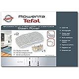 Rowenta Kit De Remplacement 2 Lingettes Microfibres + 1 Cartouche Anti Calcaire Compatible Pour Aspirateurs Rowenta Steam Pow