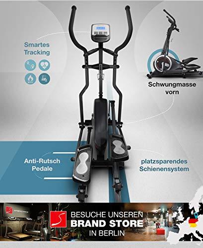 Sportstech CX630 Profi Crosstrainer Elliptical inkl. Pulsgurt - 2
