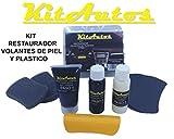 KITAUTOS Kivp Reparatur-Set für Lenkrad, Leder und Kunststoff, Schwarz