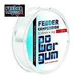 10m ' FEEDER POWER GUM ' Feedergum Shock Absorber Power Gum Feedermontage Ø 0,60mm / 4,00kg