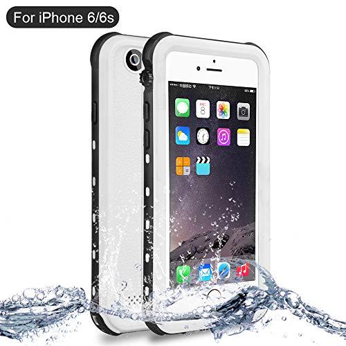NewTsie Coque Étanche iPhone 6, Coque Antichoc iPhone 6s, Imperméable IP68  Anti-Chute Anti-poussière et Anti-Neige Housse pour iPhone 6/6s 4 7 inch