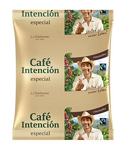 Darboven Cafe Intencion especial Fairtrade - 100 x 60g Kaffee gemahlen