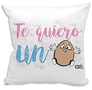 Cojín + Relleno. Te Quiero