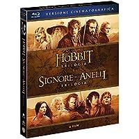 Lo Hobbit,Il Signore Degli Anelli (Box 6 Br) Trilogie Cinematografiche