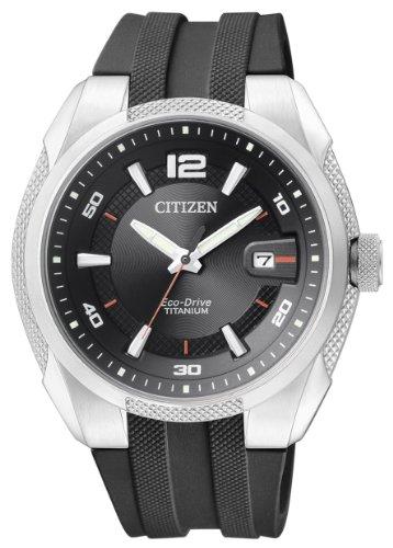 Citizen BM6900-07E - Reloj analógico de cuarzo para hombre, correa de caucho color negro