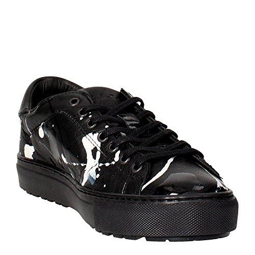D.A.T.E. Ace-9 Sneakers Bassa Uomo Nero En Italia La Venta En Línea rMS85cJ