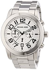 Michael Kors Herren-Armbanduhr XL Chronograph Quarz Edelstahl MK8290