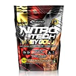 Muscletech Nitrotech Whey Gold, 100% Pure Whey Protein, Whey Isolate And Whey Peptides, Double Rich Chocolate, 8 Lbs Pack