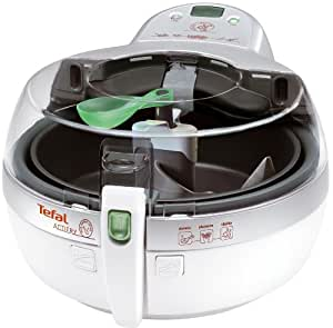 Acti-Fry by Tefal AL800040  Low Fat Electric Fryer, 1 kg Capacity, White