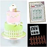 FMM - Picket Fence Cutter Sugarcraft Cake Decoration